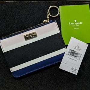 Kate Spade Bitsy Laurel Way Printed Card Wallet